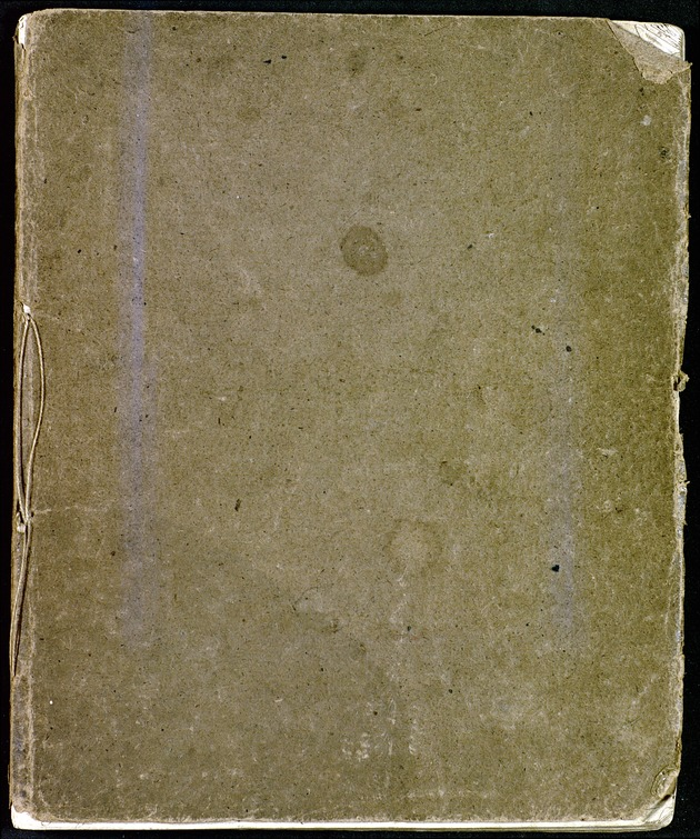 "Anonymous Copybook: Copies of letters addressed to the Printer, to Lord North, to the King, etc., signed ""An Englishman,"" ""A Friend to the Government,"" ""One Million of Loyal Faithful Englishmen,"" etc., on topics regarding the church, unrest in America, and other affairs of the day. - Front Cover 1"