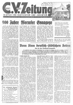 Central Verein Zeitung