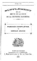 Revue de la Ligue de la jeunesse haïtienne