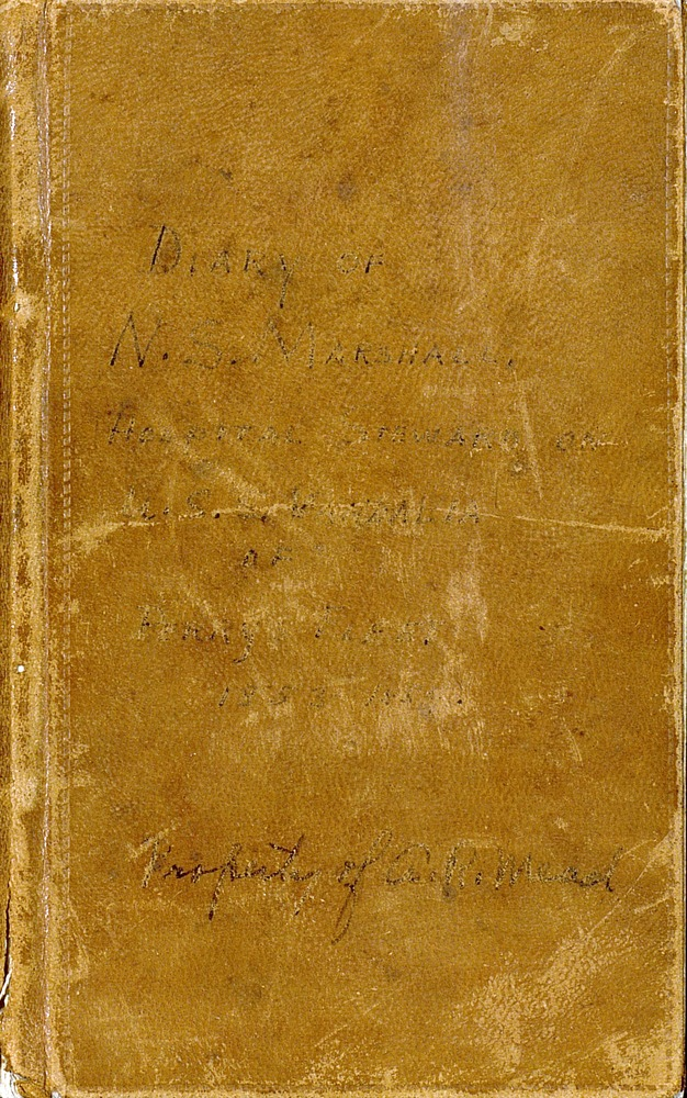 Diary of N. S. Marshall, Hospital Seward of U.S.S. Vandalia of Perry's fleet, 1853-1856 - Page i