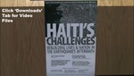 Haiti: Public Health and Structural Change