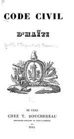 Code civil d'Haïti