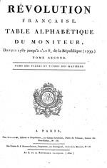 a45e8c8c885 Gazette Nationale ou Le Moniteur Universel (France)