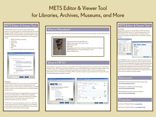 METS Editor & Viewer Tool for Libraries, Archives, Museums, and More