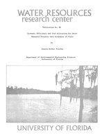 Economic efficiency and cost allocation for water resource projects with economies of scale