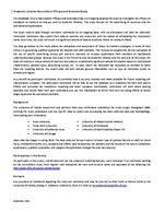 Academic Library Recruitment Efficacy and Outcome Study - Introduction - September 2011