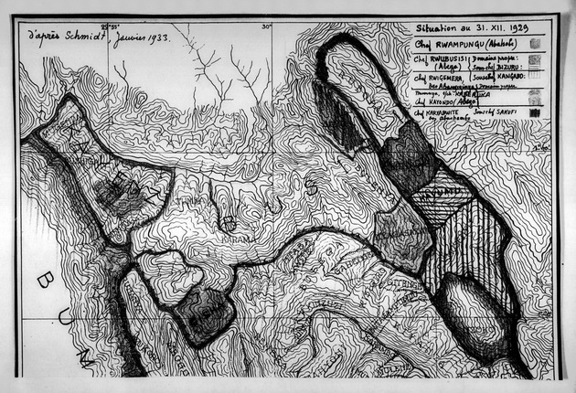 Situation au 31.XII.1929 d'après Schmidt, janvier 1933.