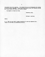 Letter from William G. Carleton to Earl Faircloth, president of the Young Democratic Club of Leon County, October 4, 1952 (2 pages)