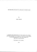Instabilities of gravity-capillary water waves