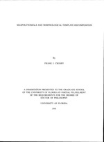 Maxpolynomials and morphological template decomposition