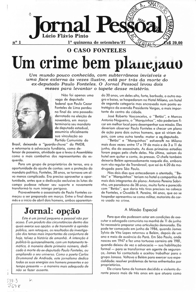 Jornal pessoal - Page 1