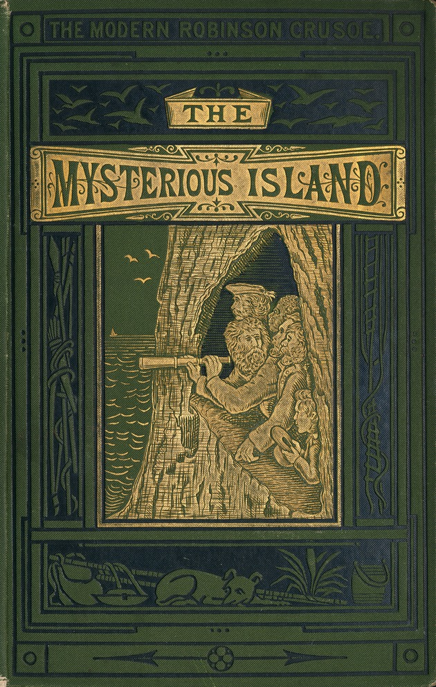 The mysterious island - Front Cover 1