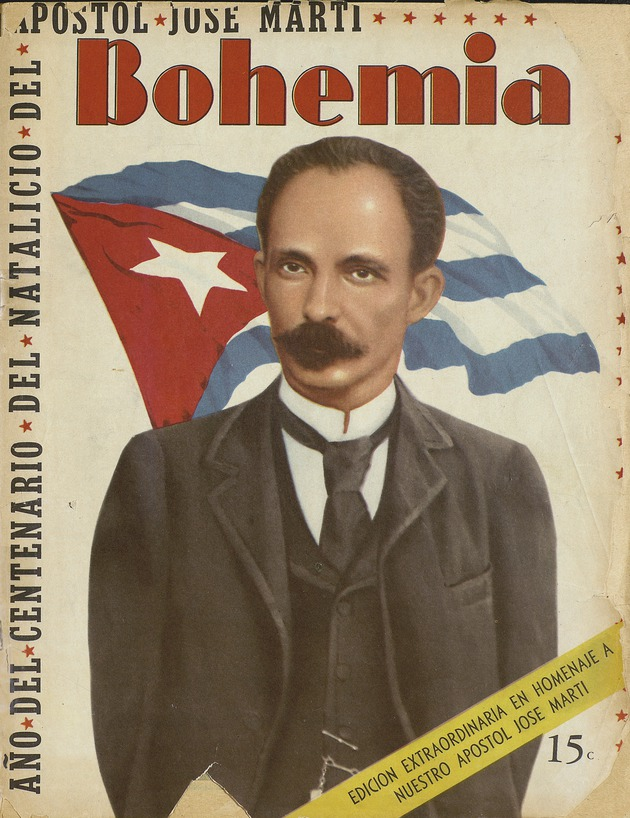 Issue of Bohemia featuring Martí. - Page 1-1