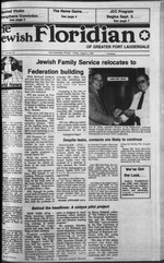 The Jewish Floridian of greater Ft  Lauderdale