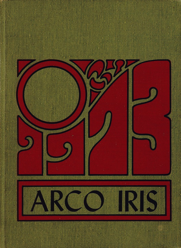 Arco Iris: Rainbow City High School Yearbook - Front Cover 1