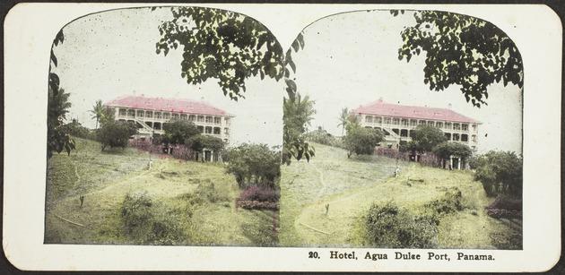 Hotel, Agua Dulce Port, Panama - Recto