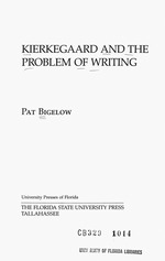 Kierkegaard and the problem of writing