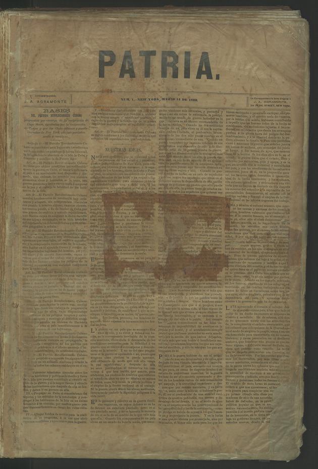 Patria - Page 1