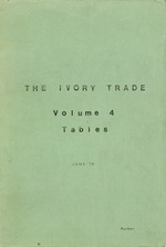Ian Parker Collection of East African Wildlife Conservation: The Ivory Trade
