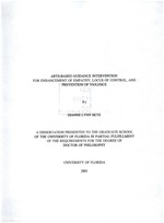 Arts-based guidance intervention for enhancement of empathy, locus of control, and prevention of violence