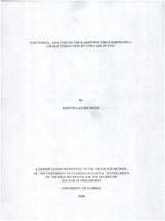 Functional analysis of the rabbitpox virus serpin SPI-1