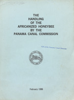 The handling of the africanized honeybee by the Panama Canal Commission
