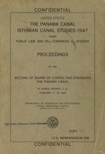Proceedings of the meeting of Board of Consulting Engineers