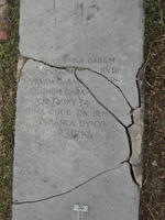 Gravestone 50, Hunt's Bay Jewish Cemetery (no survey form included; image only)