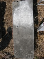 Gravestone 80, Hunt's Bay Jewish Cemetery (no survey form included; images only)