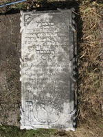 Gravestone 89, Hunt's Bay Jewish Cemetery (Last Name: Alvares, First: Judith (Iudith)