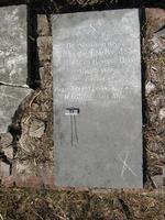 Gravestone 93, Hunt's Bay Jewish Cemetery (Last Name: DeCastro, First: Abraham)