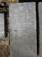 Gravestone 95, Hunt's Bay Jewish Cemetery (Last Name: Castro, First: Iouen Ishack)