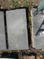 Gravestone 106, Hunt's Bay Jewish Cemetery (Last Name: Cahane, First: Ribka, Middle: Ester, Title: wife)