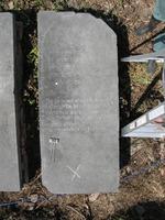 Gravestone 107, Hunt's Bay Jewish Cemetery (Last Name:, First: Jacob, Middle: Hizkiahu)