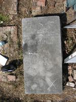 Gravestone 127, Hunt's Bay Jewish Cemetery (Last Name: De Soza, First: Yhac Hiskiau)