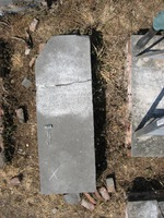 Gravestone 134, Hunt's Bay Jewish Cemetery (Last Name: Marchen, First: Rahel, Title: wife)