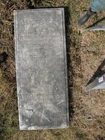 Gravestone 143, Hunt's Bay Jewish Cemetery (Last Name: Gomez Sampaio, First: Abraham, Title: Mr.)