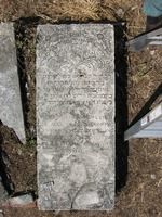 Gravestone 156, Hunt's Bay Jewish Cemetery (Last Name: Levy, First: Solomon, Title: Mr.)