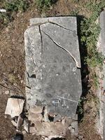 Gravestone 166, Hunt's Bay Jewish Cemetery (Last Name: Nunes, First: Daniel, Middle: Israel)
