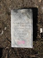 Gravestone 207, Hunt's Bay Jewish Cemetery (Last Name: Touro, First: Jahacob)