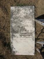 Gravestone 214, Hunt's Bay Jewish Cemetery (Last Name: Lopez Narbona, First: David)