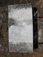 Gravestone 236, Hunt's Bay Jewish Cemetery (Last Name: Rodriques de Leon, First: Semuel)