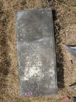 Gravestone 237, Hunt's Bay Jewish Cemetery (Last Name: Branda?, Title: Honrado)