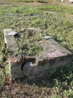 Gravestone 245, Hunt's Bay Jewish Cemetery (no survey form included; images only)