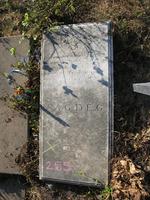 Gravestone 255, Hunt's Bay Jewish Cemetery (Last Name: Lopoes Pretto, First: Rachel)