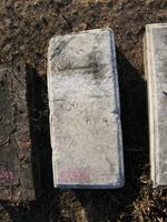 Gravestone 270, Hunt's Bay Jewish Cemetery (Last Name: illegible)
