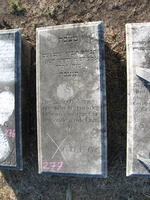 Gravestone 277, Hunt's Bay Jewish Cemetery (Last Name: Nunes, First: Yahacob)