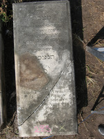 Gravestone 285, Hunt's Bay Jewish Cemetery (Last Name: Lopez Torres, First: Sarah, Title: Mrs.)