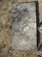 Gravestone 310, Hunt's Bay Jewish Cemetery (Last Name: Pinto, First: Rachel, Title: Senhora)