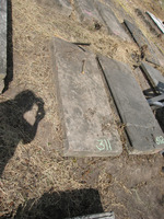 Gravestone 311, Hunt's Bay Jewish Cemetery (no survey form included; images only)